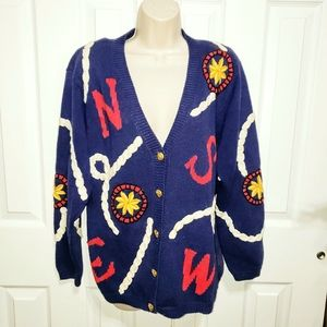 Vintage Pendleton Cardigan Sweater